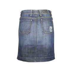 Citizens of humanity button up denim skirt 3