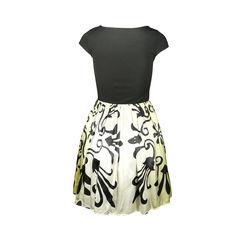 Alice olivia ombre combo trellis print dress 2