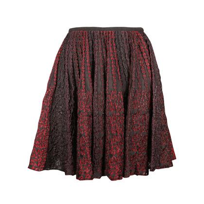 Azzedine Alaia Multithread Knit Skirt