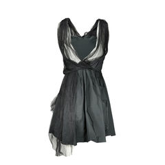Nina ricci silk and tulle dress 2