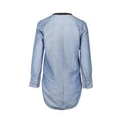 Sandro denim tunic 2