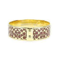 Monogram Bracelet Cuff