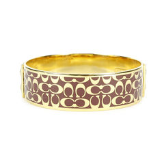 Coach monogram bracelet cuff 2