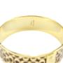 Authentic Second Hand Coach Monogram Bracelet Cuff (PSS-164-00003) - Thumbnail 4