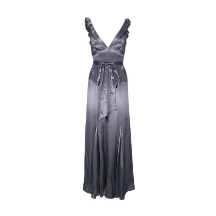 Authentic Second Hand Laundry by Shelli Segal Satin Evening Gown (PSS-175-00016)
