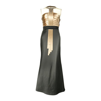 Authentic Second Hand Dorian Ho Embellished Bodice Evening Gown (PSS-060-00075)