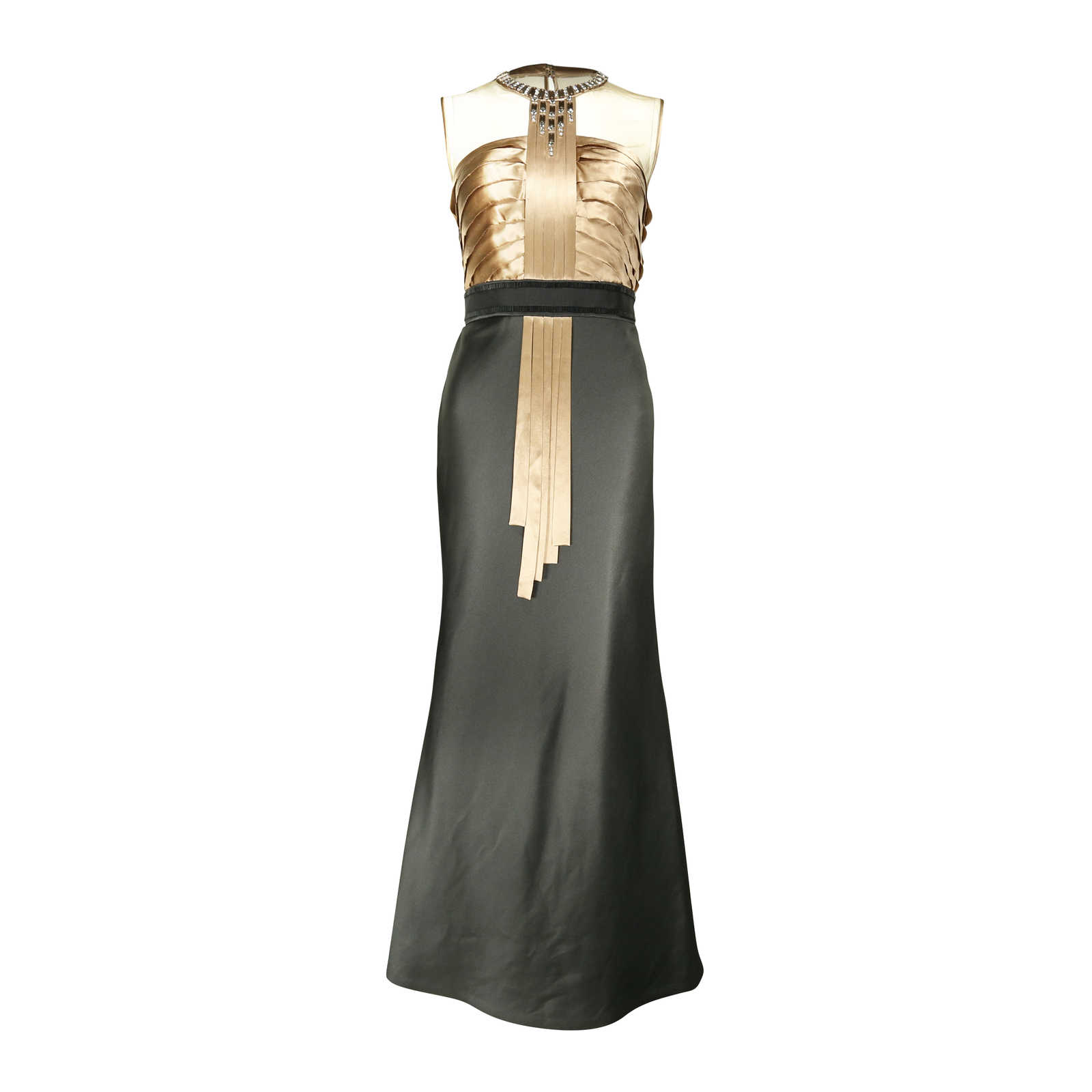 Second Hand Dorian Ho Embellished Bodice Evening Gown | THE FIFTH ...