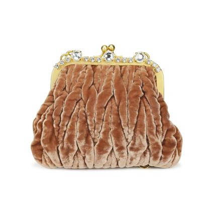 Miu Miu Crystal Trimmed Evening Bag