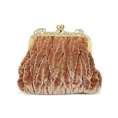 Crystal Trimmed Evening Bag
