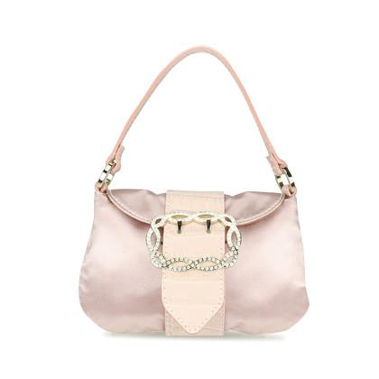 Valentino Satin Diamante Evening Bag