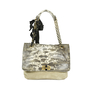 Authentic Second Hand Lanvin Happy Lizard and Suede Medium Tote (PSS-183-00011) - Thumbnail 0