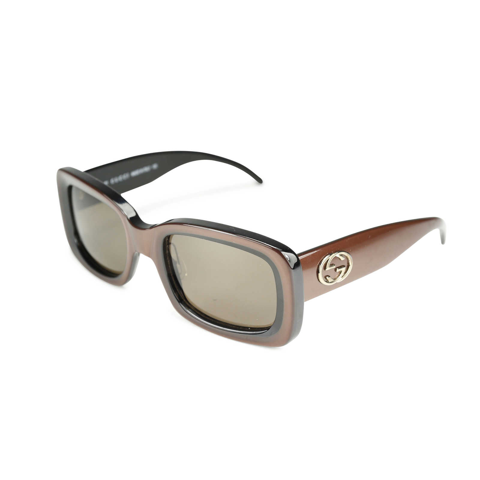 d7a22f3508f71 ... Authentic Second Hand Gucci Rectangular Frame Sunglasses (PSS-171-00056)  - Thumbnail ...