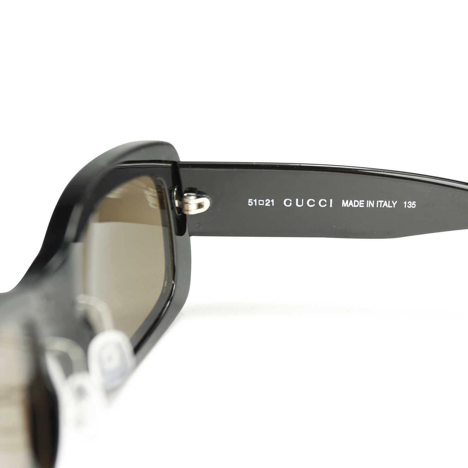 4f42a90f2aa5e ... Authentic Second Hand Gucci Rectangular Frame Sunglasses (PSS-171-00056)  - Thumbnail