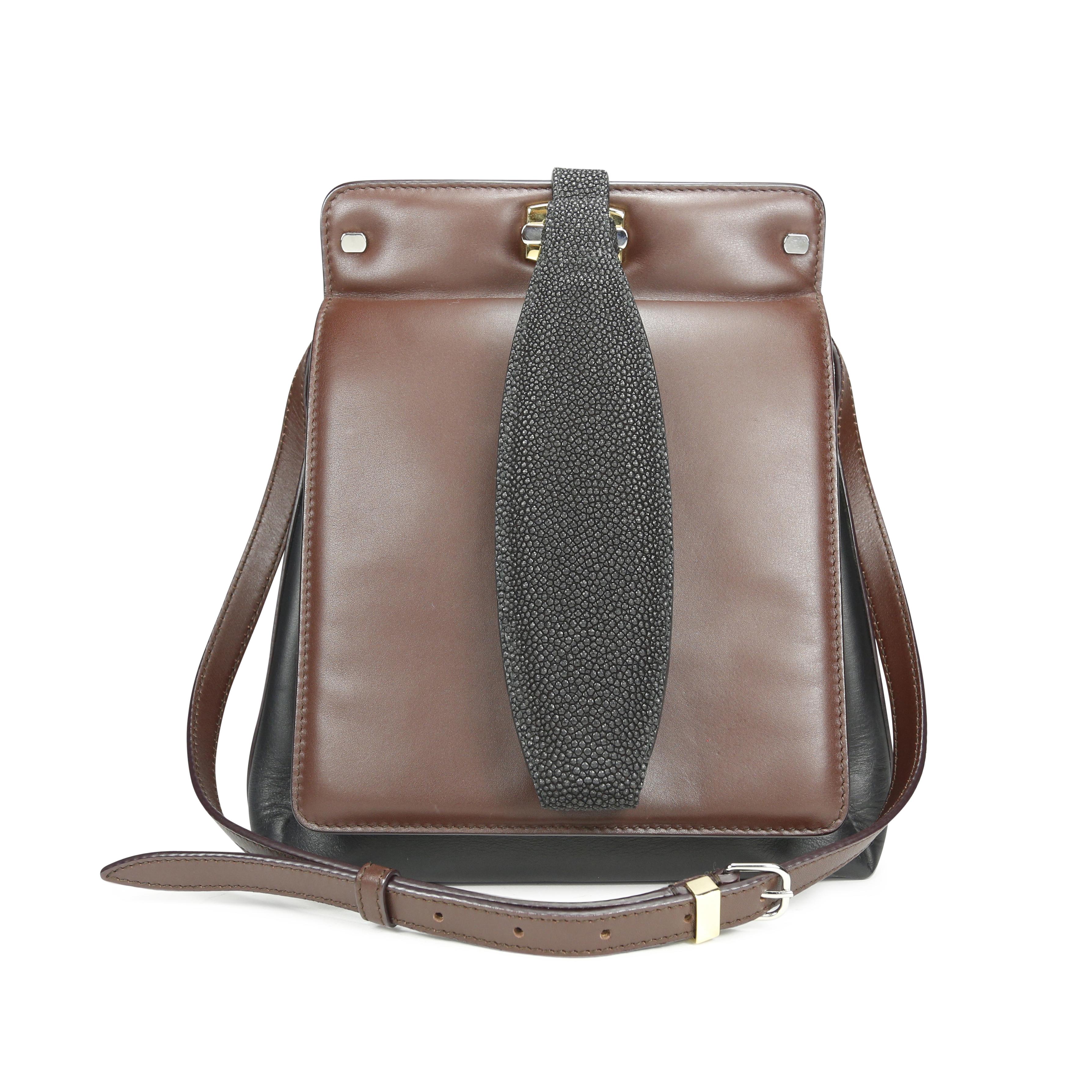 Authentic Second Hand Balenciaga 5-7 Stingray Bag (PSS-171-00037 ... 6a504def2e683