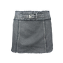 Authentic Second Hand Max & Co Belted Denim Miniskirt (PSS-122-00030) - Thumbnail 0
