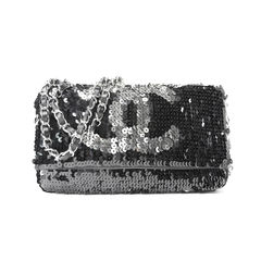 60f87308b773 Sequin Reversible Summer Night Flap Bag Chanel sequin reversible summer  night ...