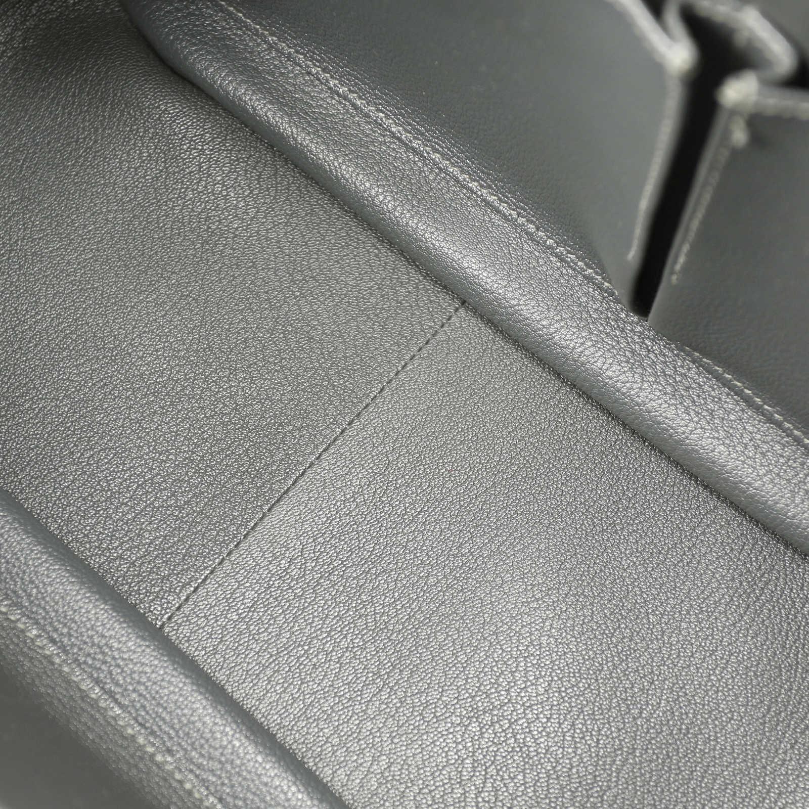 629f79717a8a ... Authentic Second Hand Hermès Jypsière 34 Taurillon Clemence Graphite  (PSS-051-00011) ...