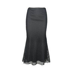 Elizabeth and james cut out overlay maxi skirt 2