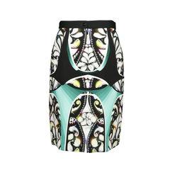 Peter pilotto abstract print skirt 2