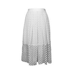Tibi crochet layered skirt 2