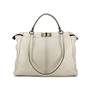 Authentic Second Hand Fendi Snakeskin and Leather Large Peekaboo Satchel (PSS-143-00047) - Thumbnail 0