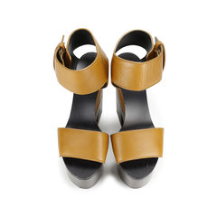 Two Tone Block Sandals