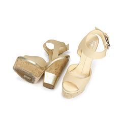 Giuseppe zanotti cork platform sandals 2