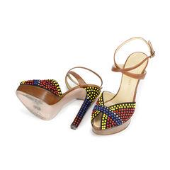 Vionnet circle stud sandals 2