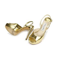 Jimmy choo platform slingback sandals 2