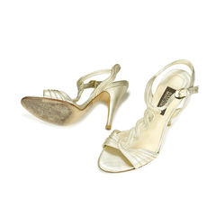 Badgley mischka braided sandals 2