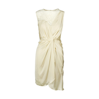 Authentic Second Hand Catherine Deane Lace Draped Dress (PSS-060-00084)