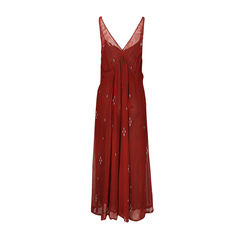 Isabel marant etoile striped maxi dress 2