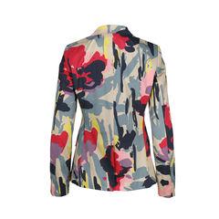 Dkny abstract print blazer 2