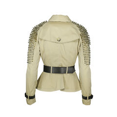 Burberry prorsum studded trench jacket 2