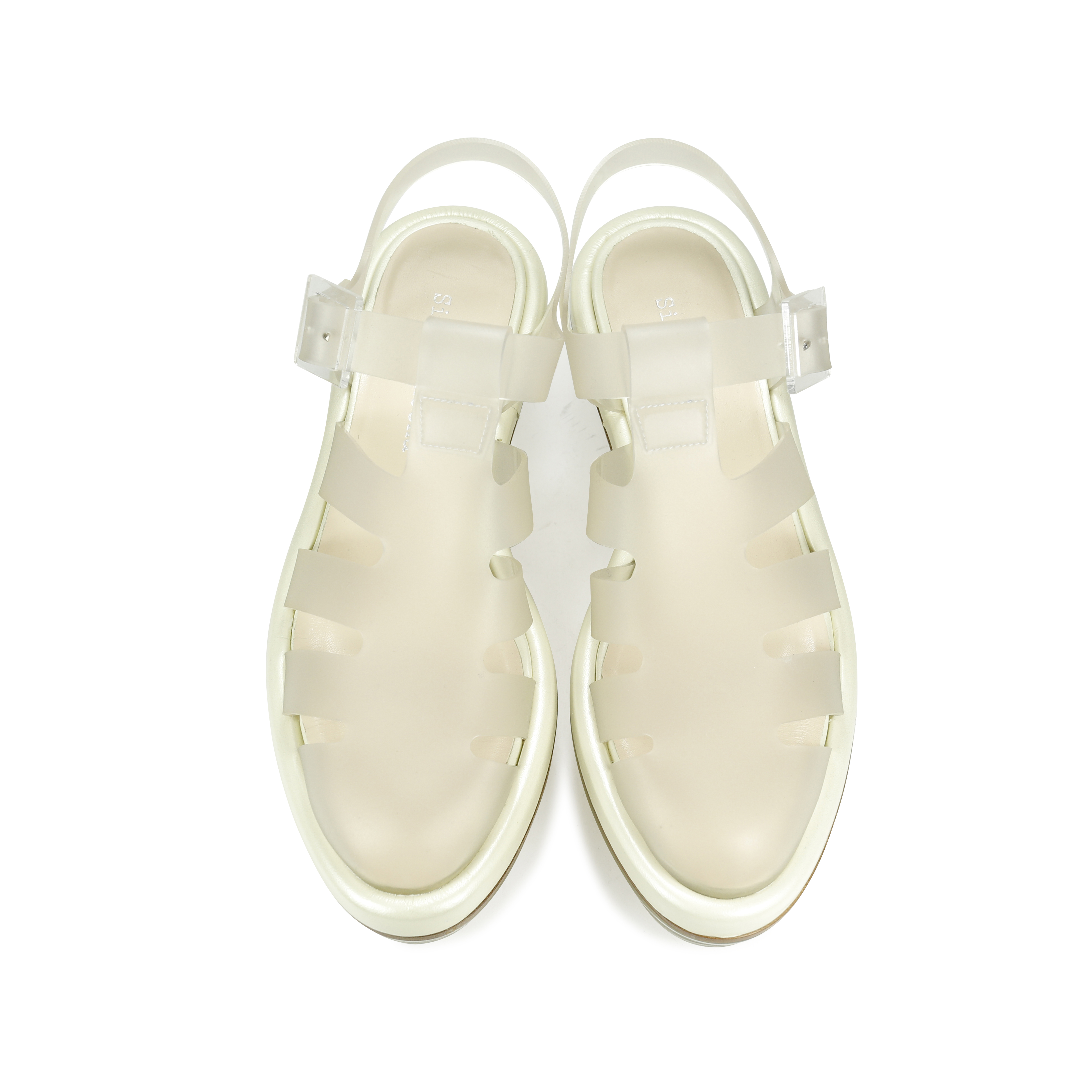 4710519624ad Authentic Second Hand Simone Rocha Clear Perspex Platform Jelly Sandals  (PSS-193-00019)
