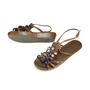 Authentic Second Hand Prada Bejewelled Sandals (PSS-193-00029) - Thumbnail 1
