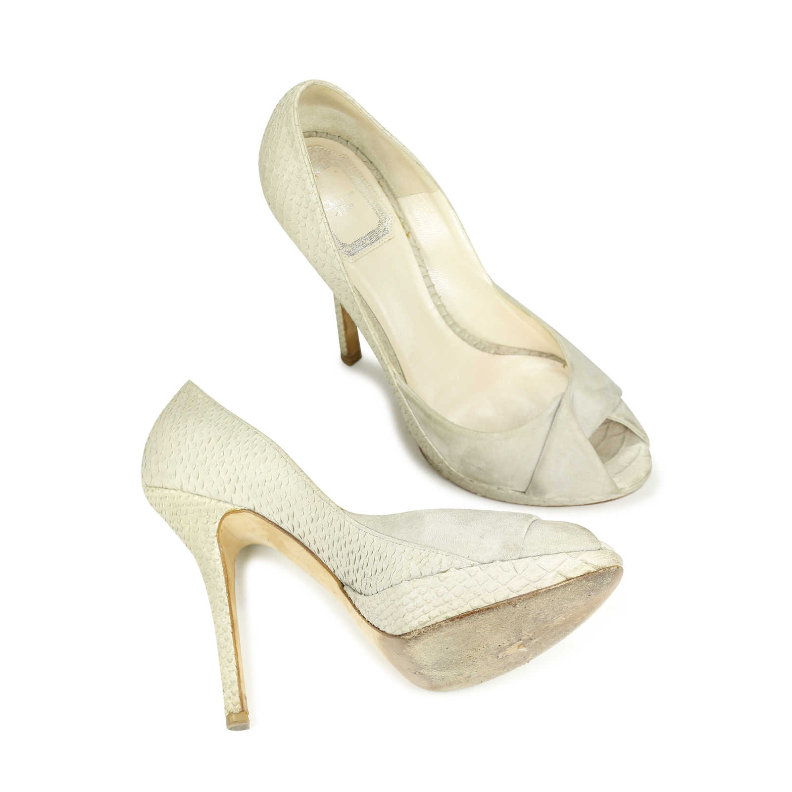 discount wholesale exclusive cheap online Christian Dior Twist Snakeskin Pumps for sale very cheap outlet sneakernews classic m4YU1uO