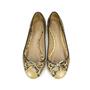 Authentic Second Hand Céline Python Ballet Flats (PSS-060-00012) - Thumbnail 0