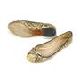 Authentic Second Hand Céline Python Ballet Flats (PSS-060-00012) - Thumbnail 1