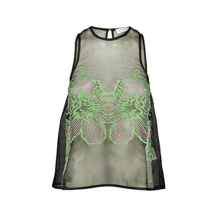 Authentic Second Hand Alice McCall Sheer Keyhole Back Top (PSS-193-00012)
