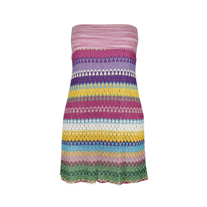 Authentic Second Hand Missoni Knitted Tube Dress (PSS-143-00064)