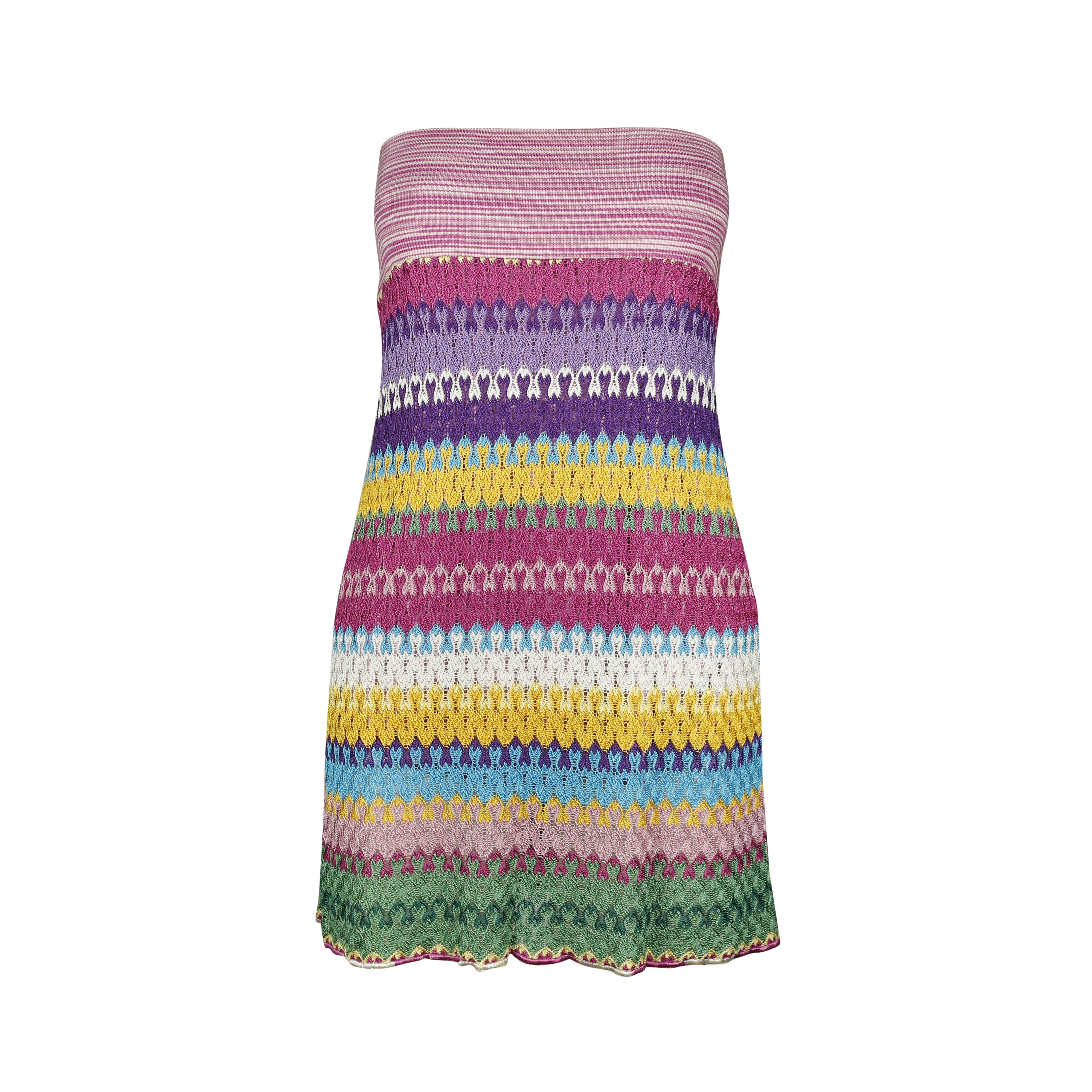 6af0319482 Authentic Second Hand Missoni Knitted Tube Dress (PSS-143-00064 ...