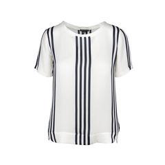 Katsley Striped Silk Top