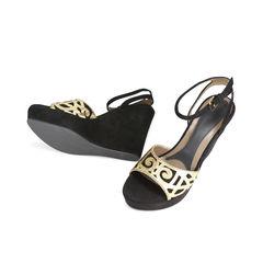 Marni swirl suede sandals 2