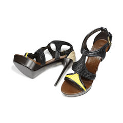 Burberry prorsum raffia interwoven sandals 2
