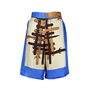 Authentic Second Hand Tsumori Chisato Printed Silk Shorts (PSS-189-00007) - Thumbnail 0