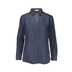 Ribbed Collar Shirt