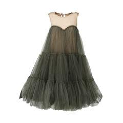 Tulle Mesh Dress