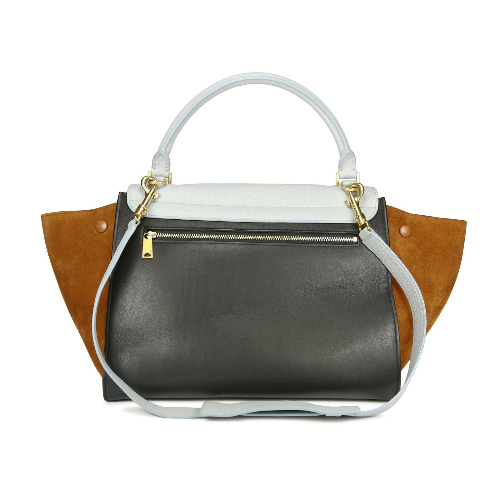 f64fdd8abf8f ... Authentic Second Hand Céline Tri-colour Trapeze Bag (PSS-196-00001) ...