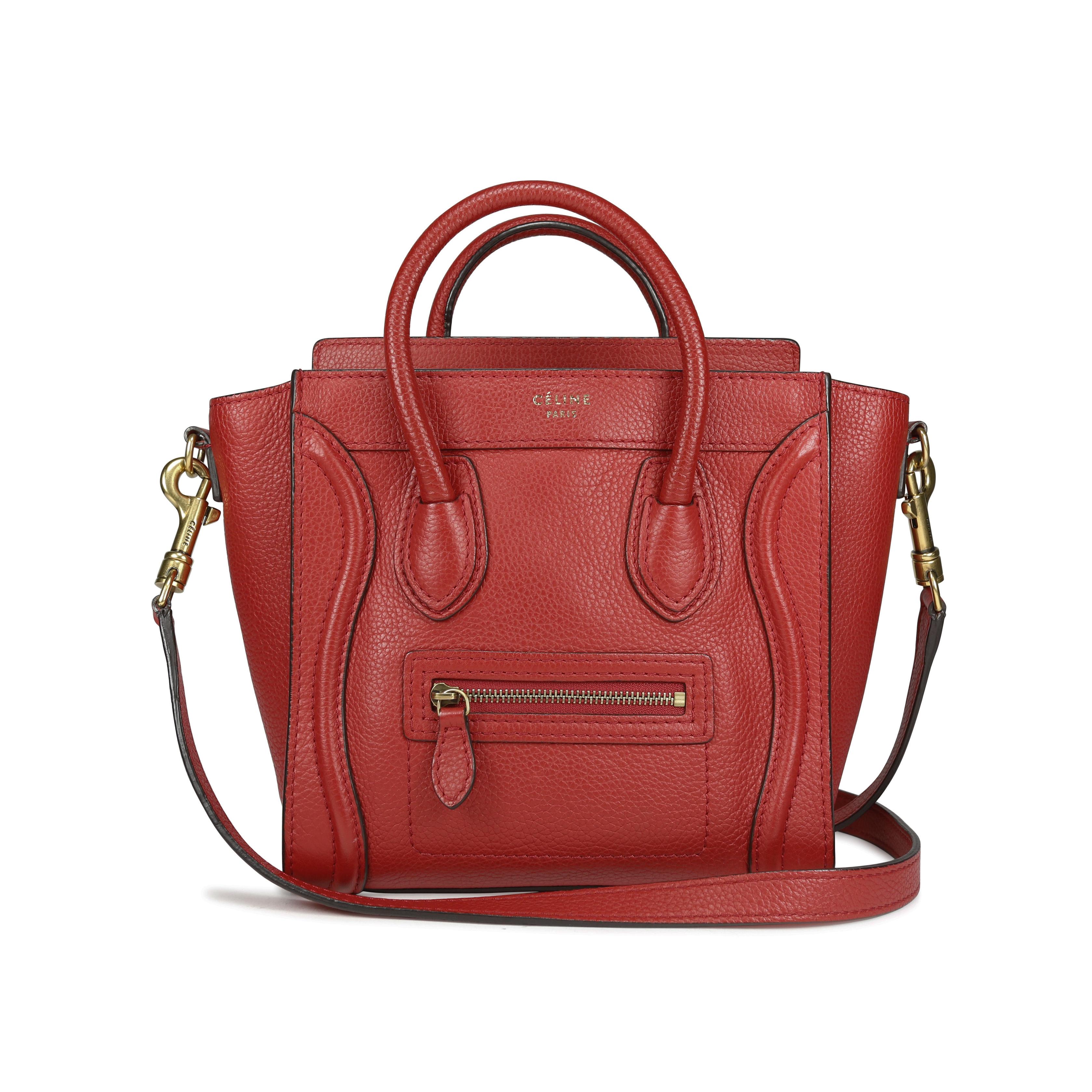 e02e447e9e54 Authentic Second Hand Céline Nano Luggage Bag (PSS-196-00002)